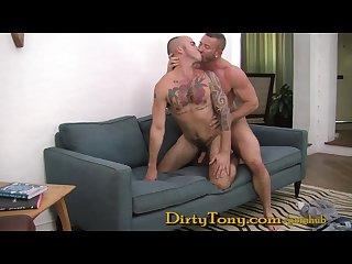 Bareback daddy drills ink d boy