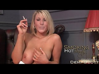 Demi scott smoking