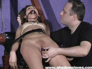 Sahara knite humiliating face bondage and spanked indian bdsm slave