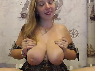 Hello x pussy blowjob and cum on tits