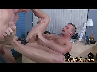 Fisting extreme gay Xxx Brian bonds and axel abysse stir to the office