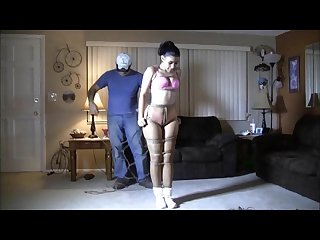 Sahrye tightly bound and gagged