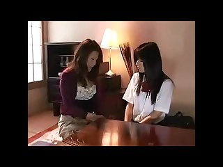 Japanese futanari mother daughter complete sex