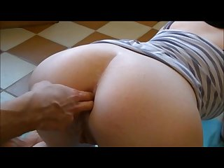 Close up anal fingering and massage mature big ass fuck porn music video