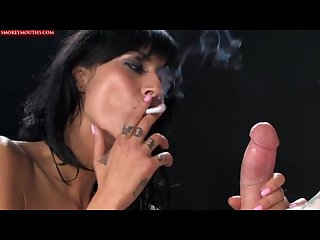 Havana sin sloppy smoking bj