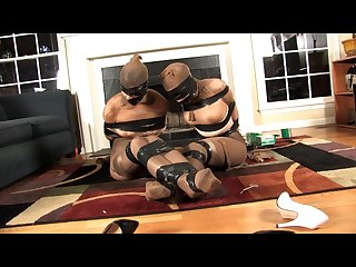 Ludella and nyxon bound and encased