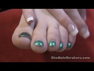 Shemale feet young cute babe hazel tucker show her beautiful feet close up