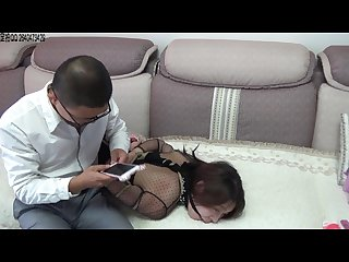 Chinese girl in bondage