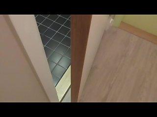 Hidden cam caught masturbation public shower