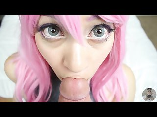 Up close blowjob real life hentai