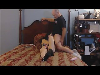 sexy wife wants to fuck the pizza delivery boy gets shaved pussy worshiped