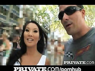 Private asa akira in pov action