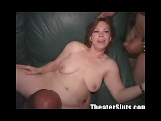 Kayce in theater fuck 2