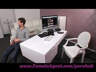 Femaleagent shy stud fucks like a demon