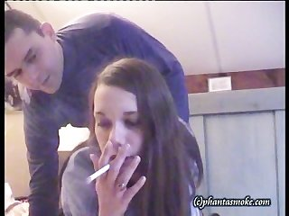Smoking fetish doggystyle fuck