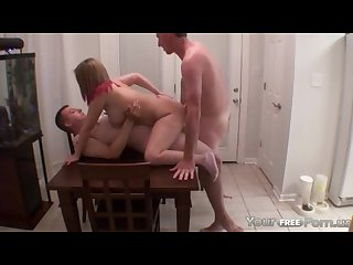 Best friend joins husband and wife for her first Dp