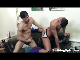 Rimmed English bloke gets drilled and jizzed
