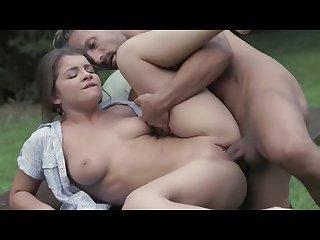 Fucking in garden