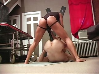 Nyc mistress asha hot strap on buttfucking action femdom