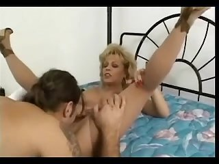 HORNY GRANNY SLUT FUCKED IN STOCKINGS N HEELS Sammie Sparks