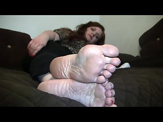 Ava s candid stinky soles
