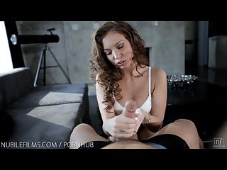Nubile films petite goddess maddy oreilly swallows every last drop