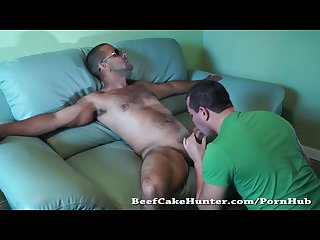 Sucking delicious str8 dominican cock