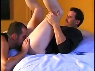 Sit on my face 3 buddies get together and eat each others ass and fuck