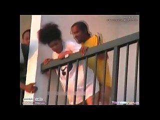 Panama city Balcony fuck latina thot