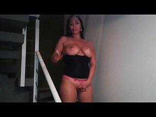 Big titts smoking sexy