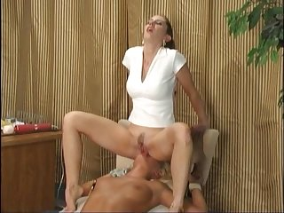 Lesbian girl scouts pussy licking slave