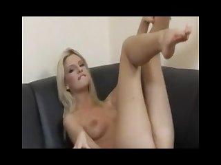 Long legs masturbating