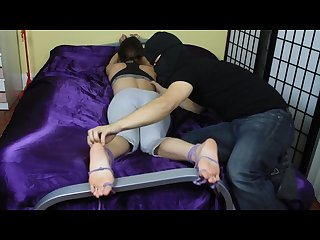 Kandii facedown toetie tickled