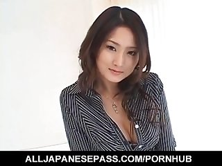 Risa murakami busty sucks and licks tool till gets cum on mouth