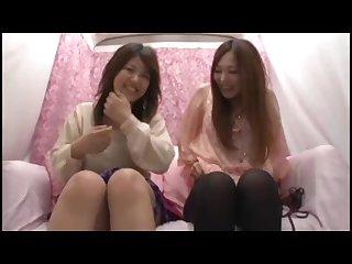 Japanese Nanpa lesbians