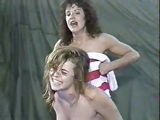 Christine dupree vs Tina antman Wrestling