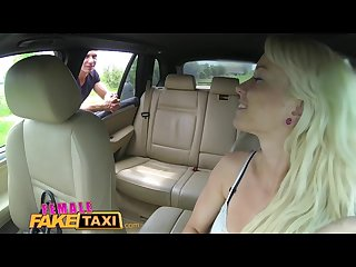 Femalefaketaxi creampie payment for sexy driver