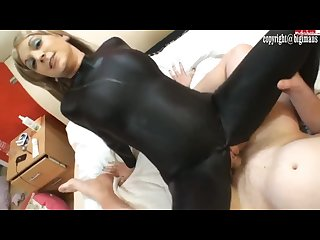 Catsuit sex
