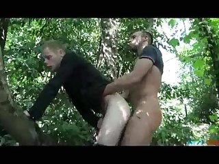 Empty my balls in the woods