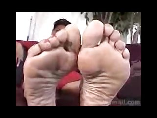 Beautiful mature ebony foot interview