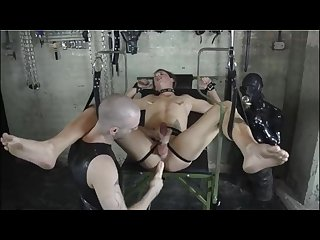 Skinhead master bdsm session