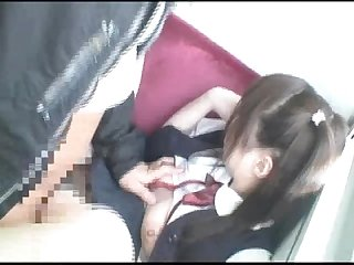 Japanese school girl loli Chikan 06