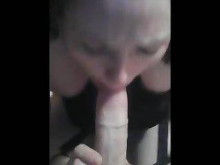 Pov redhead nympho sucking dick