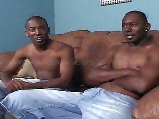 Black bareback fucking cock sucking cum eat uncut penis Foreskin amateur