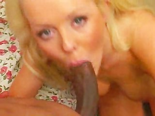 Blonde milf fucked by stripper