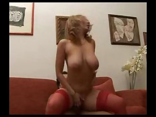 Horny latina milf finds herself some dick
