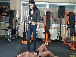 Female domination Trample