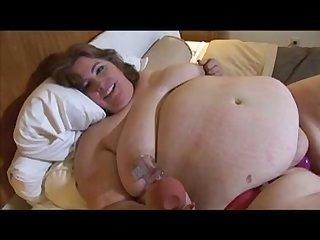 Ssbbw kinky masturbation
