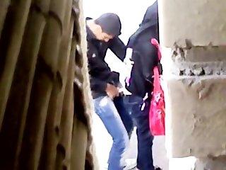 Arab fucks a prostitute hidden cam