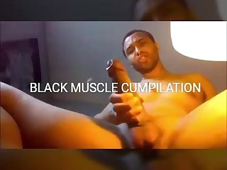 Black muscle cumpilation
